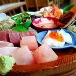秀丸 - 磯桶定食(大)2,100円