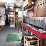 山崎食堂 - バス店内(前方)