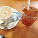 ドトールコーヒーショップ - 料理写真:ロイヤルマサラチャイとアイスティー☆