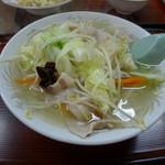 浜奈食堂 - タンメン(650円)