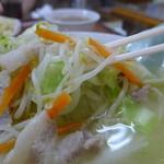 浜奈食堂 - 野菜たっぷり!