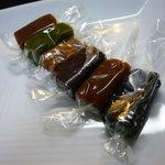 ル・ショコラ・ドゥ・アッシュ - ☆可愛らしいサイズで食べやすいです(*^。^*)☆