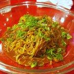 中国料理 四川 - 汁なし坦々(880円)