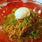 中国料理 四川 - 温玉乗せ。