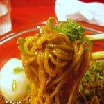 中国料理 四川 - ミンチがよく絡んでウマいです。
