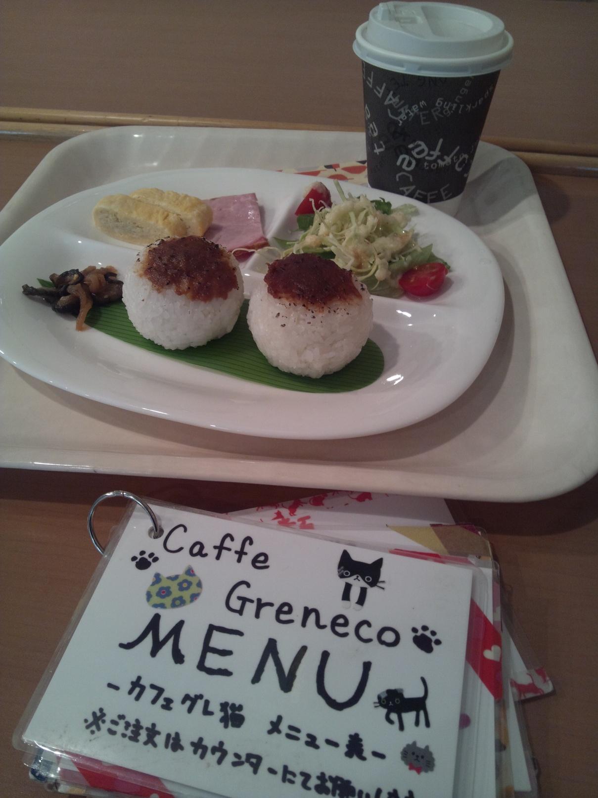 カフェ グレ猫