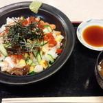 いちもん 蓮田SA上り店 - 海鮮バラちらし650円