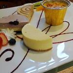 36882601 - チーズケーキトッピング 1/2ピース×4