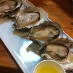 活海酒 - 時期によっては数種類の牡蠣を楽しめる♪