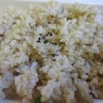 デリマシェリ - 私は白米を玄米に替えてもらったんで+30円で630円でした。