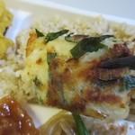 デリマシェリ - チヂミにはチーズを使ってあるんでとても食べ易かったです。