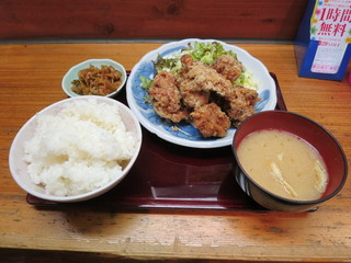 満天酒場 大森店 - 鶏の唐揚げ ランチ 500円