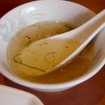 翠香 - スープ