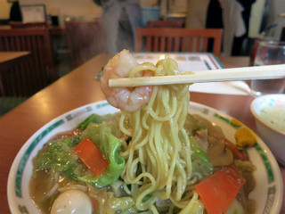 精陽軒 - 麺と餡のバランスが良く素直に美味しい