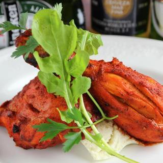 桜姫鶏のタンドリーチキン