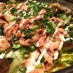 四季菜・炭火Dining 樂 - 豚焼肉サラダ