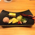 竹彩 - 自家製デザート