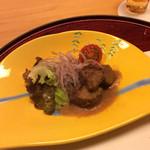 竹彩 - 宮崎牛のサイコロステーキ