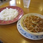 インディアン・レストラン ロタ - 700円のランチセット♪ライスは、小盛です。