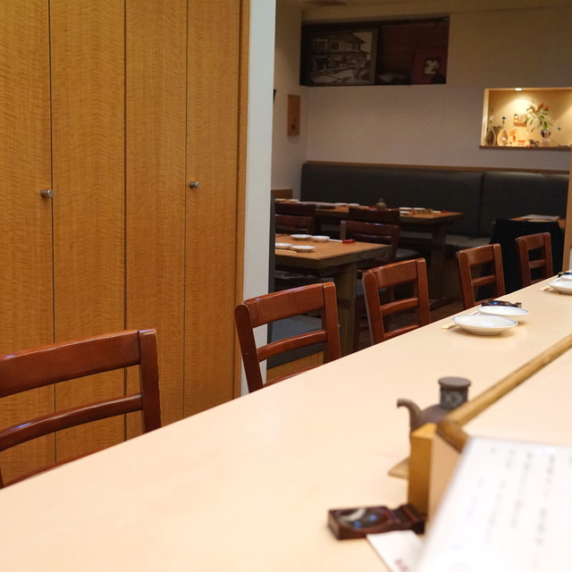 吟遊 - カウンター席 (2015/03)