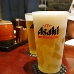 TONKATSU GINZA BAIRIN - アサヒスーパードライ(生) $5.95