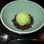 六本木 福鮨 - 一番人気の抹茶あずき