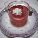 旬味酒菜 中鉢  - イチゴゼリー