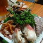 魚がし福ちゃん - 貝盛り