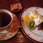 パルチザン - チョコケーキセット