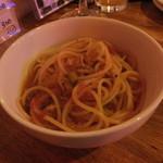 ガーラキッチン - トマト鍋の〆のパスタ