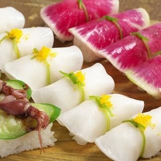 からだにやさしい野菜寿司