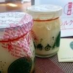 淺草シルクプリン - シルク、チーズ 各¥352(催事にて)