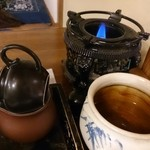 雅楽茶 - 楽しい。何杯分もあるから飲みすぎちゃって胃が疲れた
