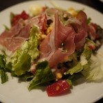 Cucina Magica - ランチのセットサラダ。