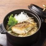 点 - 真鯛の鉄鍋炊き上げご飯