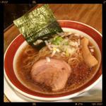 徳 - 和風醤油ラーメン 690円