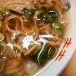 Tsutafuji - スープの表情 オイル度は中くらい
