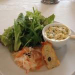 柊山ガーデン - ランチ 前菜、サラダ