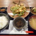 沖縄そば ゆんたく - ゴーヤーチャンプルー定食