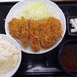 36918426 - ロースかつ定食(700円)