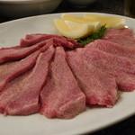 牛八 - 料理写真:☆肉厚なタン(≧▽≦)/~♡☆