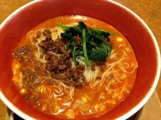 錦城 本店 - 坦々麺