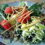 住留 - 野菜サラダです