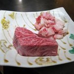 とり勝 - ここで牛肉の登場!
