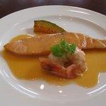 ボン・ファン - 魚料理,サーモンのムニエル