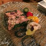 マツモト マウント バル - 豚とパセリのテリーヌ 680円