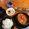 にんじんの家 - 料理写真:ランチパスポートでスンドゥブチゲ定食。