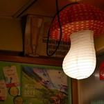 カタコト - キノコの照明(笑)