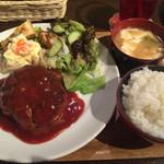 グゥー - ハンバーグ定食