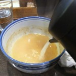 わた井 - スープ割り